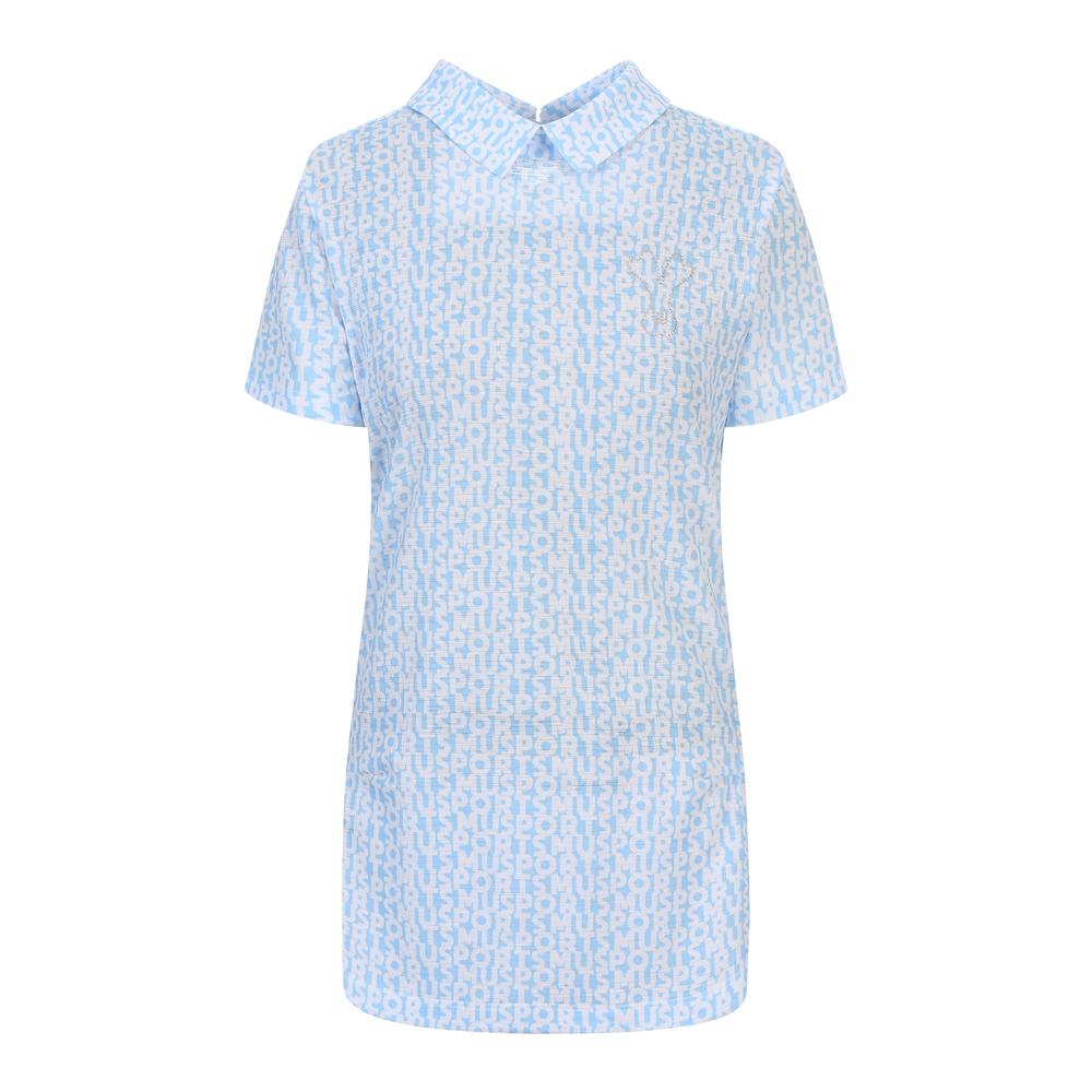 [엠유스포츠] 레터링 프린트 중기장 티셔츠_LIB MU20322TS07