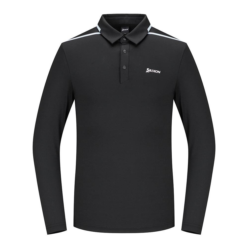 [스릭슨] 라인 포인트 티셔츠_BLK SR20122TL01