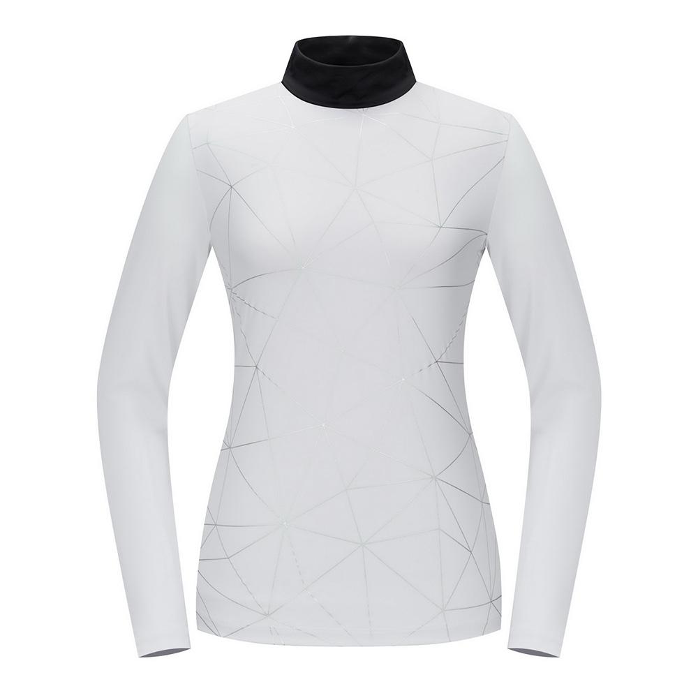 [스릭슨] 호일프린트 하이넥 티셔츠_IVY SR20122TL54