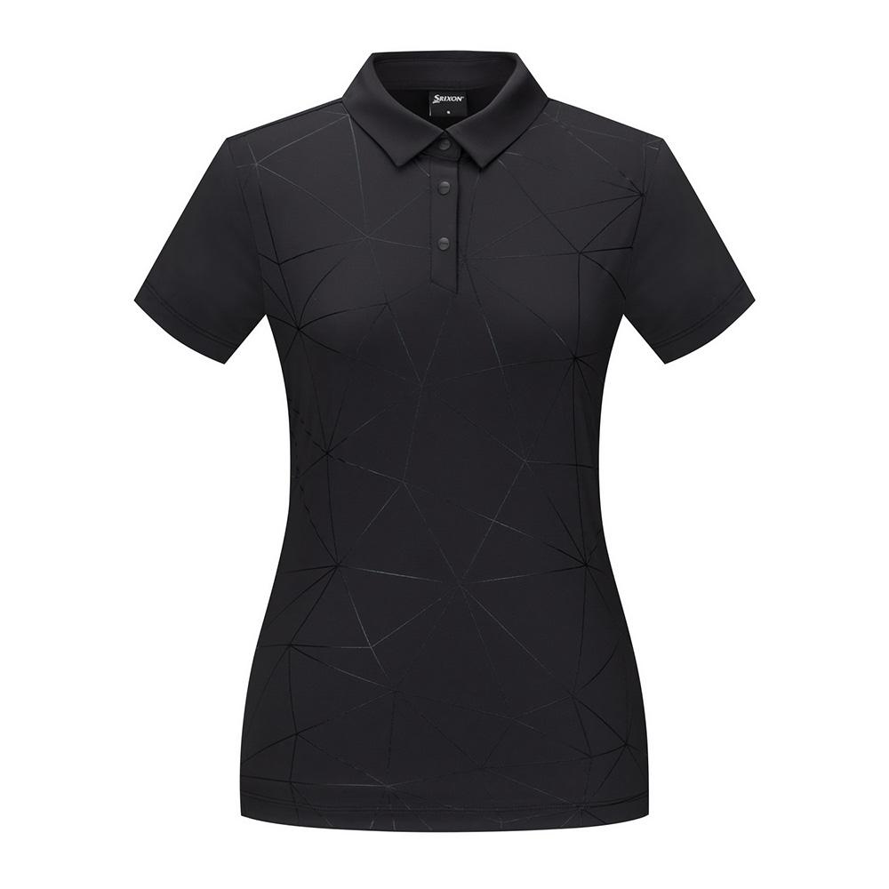 [스릭슨] 호일프린트 반팔 티셔츠_BLK SR20122TS51