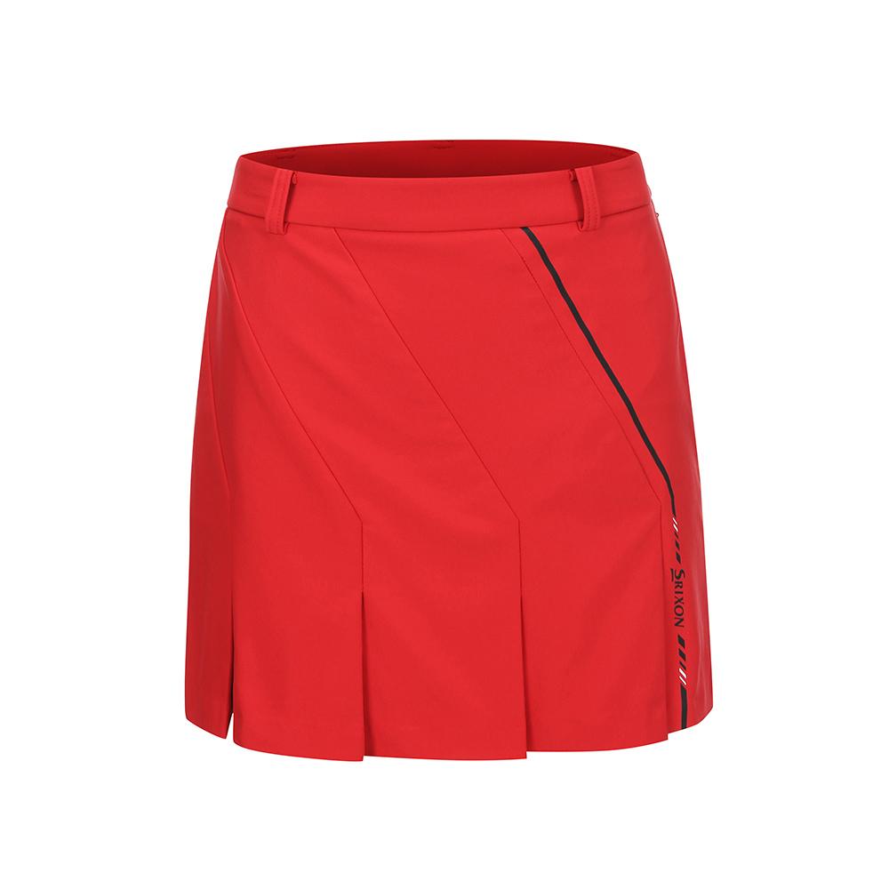 [스릭슨] 여성 변형 플리츠 스커트_RED SR20522SC53