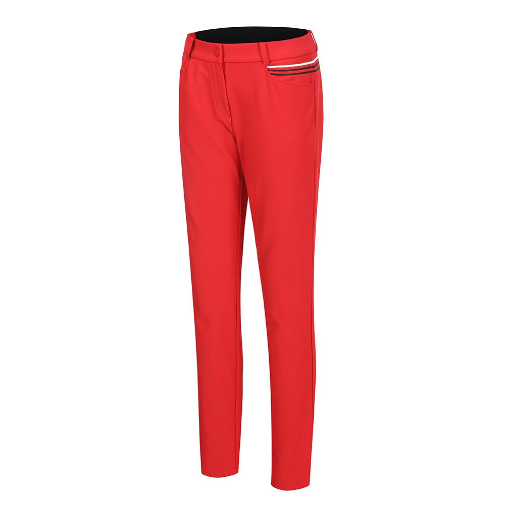 [스릭슨] 여성 울밴드 슬림팬츠_RED SR20522SL52